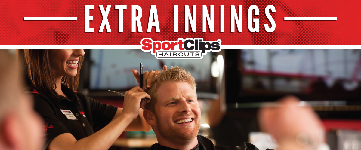 The Sport Clips Haircuts of Clear Lake Marketplace Extra Innings Offerings